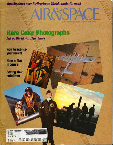 Air & Space 8/9 August/September 1991 Vol.6 No.3 Issue Magazine U1 N/A Airscoop