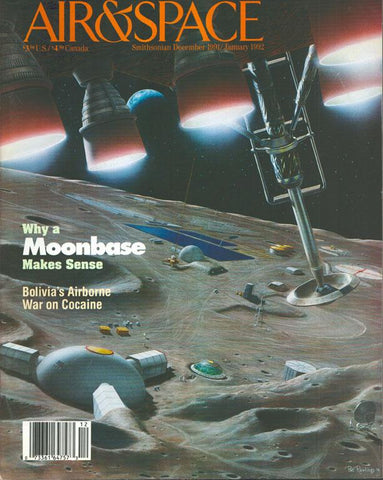 Air & Space 12 December 1991 1 January 1992 Vol.6 No.5 Issue Magazine U1 N/A Airscoop