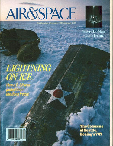 Air & Space 12 December 1992 1 January 1993 Vol.7 No.5 Issue Magazine U1 N/A Airscoop