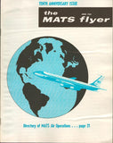 Military Air Transport Serice The Mats Flyer June 1964 Vol.XI No.6 Magazine U2 N/A Military Air Transport Serice