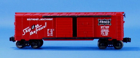 Lionel O Gauge Trains Southest Southwest SL SF #19230 Double Door Car #LLC94U
