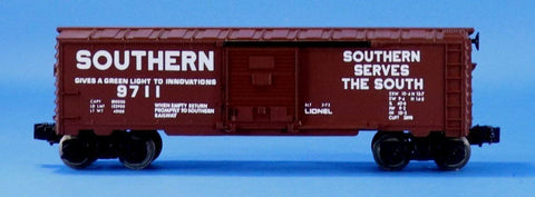 Lionel Electric O Gauge Trains Southern #9711 Box Car Boxcar Some Rust #LLC95U