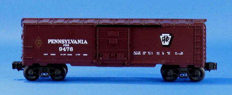Lionel Electric O Gauge Trains Pennsylvania PRR 9476 Box Car Boxcar #LLC100U