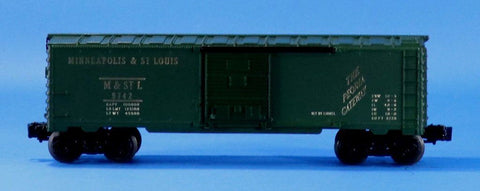 Lionel Electric 1:48 O Scale Trains Minnepolis & ST. Louis Box Car Boxcar #9742