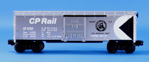 Lionel Electric O Gauge Trains CP Rail 9730 Box Car Boxcar #LLC102U