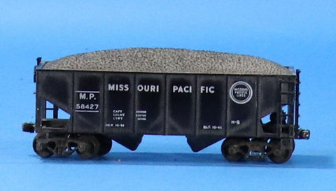 HO Gauge Missouri Pacific M.P. #58427 Hopper w/ Load Car #OEMcar02U