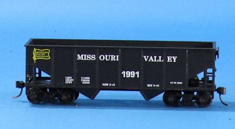 HO Gauge Missouri Valley #1991 Hopper Car #OEM03U