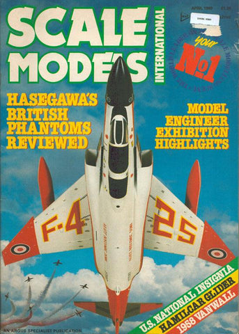 Scale Modeler International April 1989 Volume 20 Number 234 Magazine U2 N/A Scale Modeler