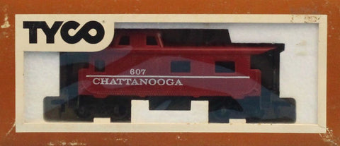 LOT #031 of HO Gauge 3 Caboose & Tank Car Tyco #HOLOT031U N/A Tyco