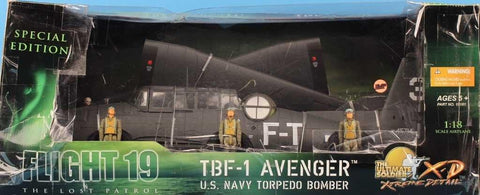 21st Century Toys 1:18 TBF-1 Avenger Torpedo Bomber Flight 19 Special #10181U N/A 21st_Century_Toys_Ultimate_Soldier