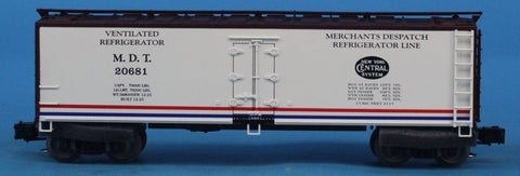 O Gauge Merchants Despatch Refrigerator Line M.D.T #20681 Boxcar Box Car #OEMcar85U