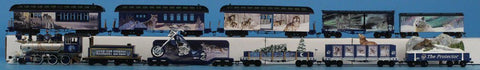 Bachmann HO Gauge Moonlight Moonlite Express Irain Set 1 Engine 10 Cars #BNC27U N/A Bachmann