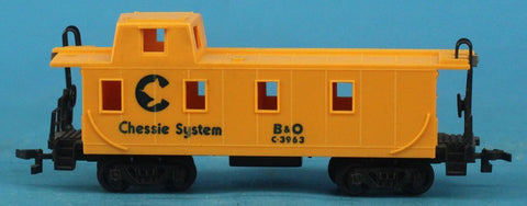 Bachmann HO Gauge System Baltimore & Ohio B & O #C3963 Train Caboose Car #C3963U N/A Bachmann