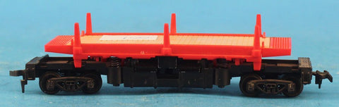 Lot #042 of HO Gauge 2 Flat Car 2 Gondola 2 Car Caboose Car Tyco #HOLOT042U N/A Tyco