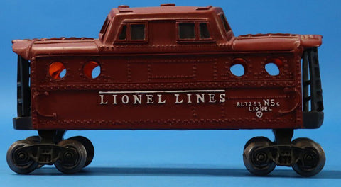 Lionel Lines Light Up Train Car BLT255 N5c Caboose Car #LionelN5CU N/A Lionel