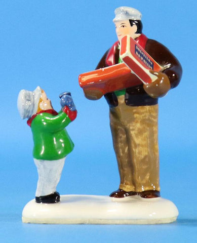 Lionel Figuerine - Boy and Man Christmas Ornament #F01U N/A Lionel