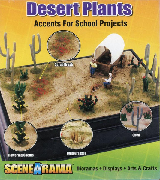 Model Building Kits Woodland Scenics SP4124 Desert Plants Diorama