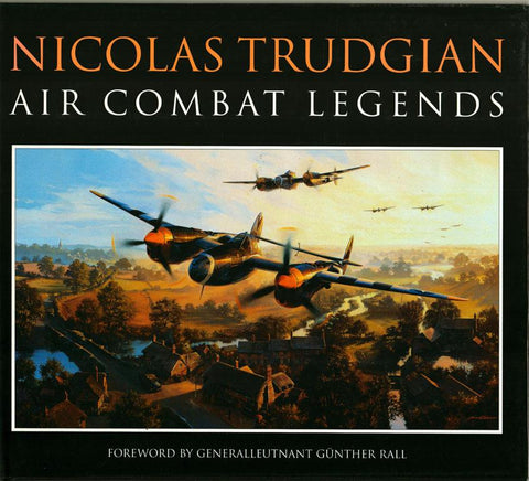 Air Combat Legends by Nicolas Trudgian Hardcover David & Charles U1 N/A David_and_Charles