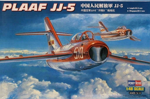 Hobby Boss 1:48 PLAAF JJ-5 Plastic Aircraft Model Kit #80399U N/A Hobby_Boss