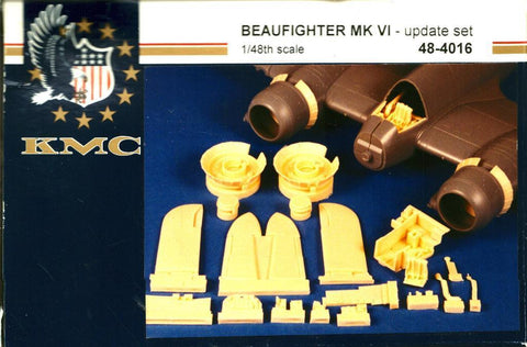 KMC 1:48 Beaufighter Mk.VI Update Set for Tamiya Resin Detail Set #48-4016 N/A KMC