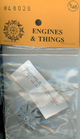 Engines & Things 1:48 Shvetsov M25/ASh-62/63 9 cyl I-15 I-153 I-16 Set #48028 N/A Engines_Things