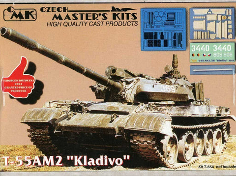 CMK 1:35 T-55 A M2 Kladivo Conversion Set for Tamiya Kit #3045 N/A CMK