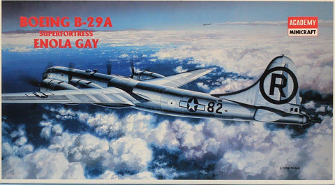 Academy Minicraft 1:72 Boeing B-29 A Superfortress Enola Gay Plastic Kit #2154