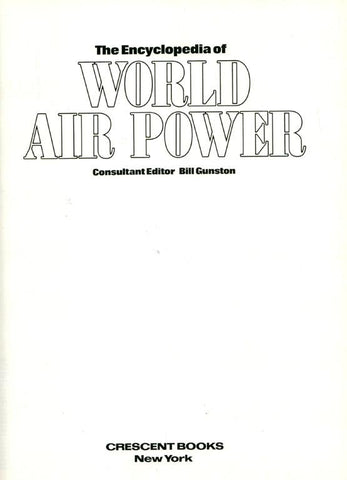 The Encyclopedia of World Air Power by Maurice Allward Hardcover Book Crescent N/A Crescent_Books