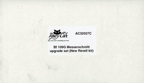 Alley Cat 1:32 Bf-109 G Messerschmitt Upgrade Set for Revell #AC32027C N/A Alley_Cat