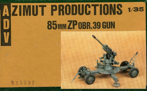 A.D.V Azimut 1:35 85mm ZP obr.39 Gun Resin Model Kit #35087 N/A A_D_V_Azimut