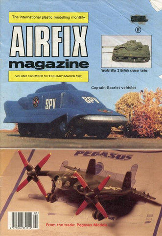 Airfix Magazine Vol.3 No.10 February/March 1992 Modelling Monthly Alan W.Hall U N/A Alan W.Hall