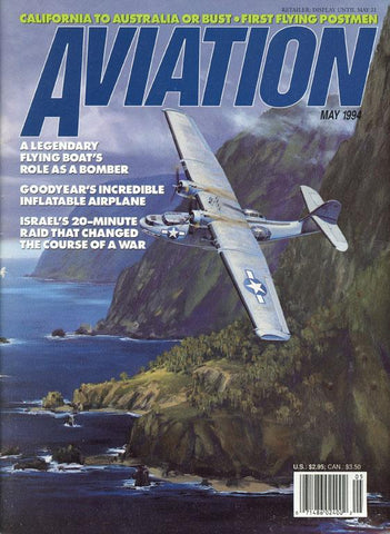 Aviation May 1994 California To Australia Bust First Flying Postmen Magazine U N/A Aviation