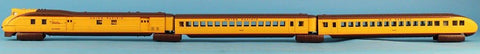 MTH O Gauge Union Pacific M10000 Diesel Passenger 3 Pcs Set w/ Proto-Sound 2.0 Car #20-2298-1U