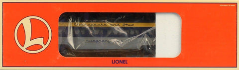 Lionel O Gauge Chesapeake Ohio Aluminum Observation Car Allegheny Club #6-19150UB