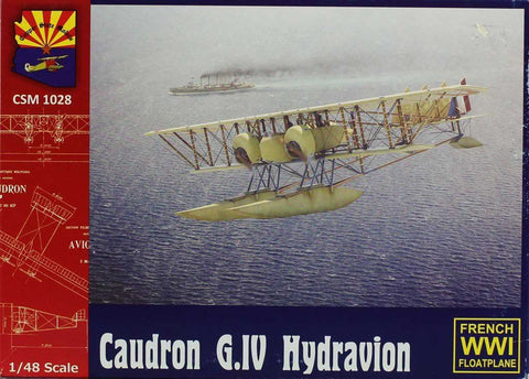 Copper State Models 1:48 Caudron G.IV Hydravion Plastic Model Kit #K1028U