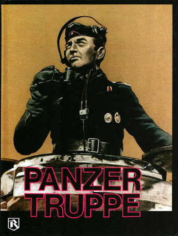 WW2 German Armoured Panzer Truppe Hardcover Book U3 N/A Panzer_Truppe
