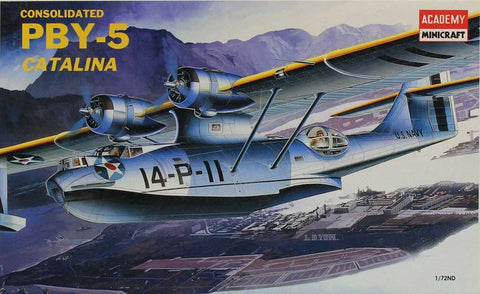 Academy Minicraft 1:72 Consolidated PBY-5 Catalina Plastic Model Kit #2123
