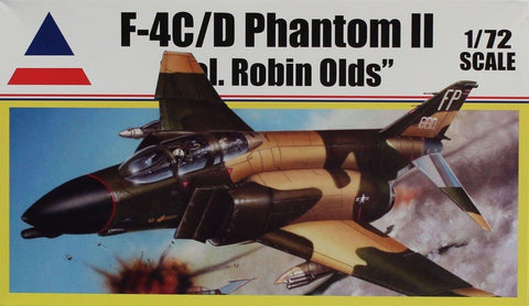 Accurate Miniatures 1:72 F-4 C/D Phantom II Col. Robin Olds Plastic Kit #0410