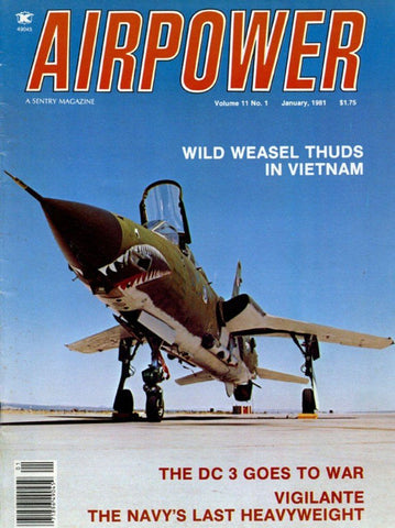Airpower January 1.1981 Volume 11 Number 1 Magazine U N/A Airpower