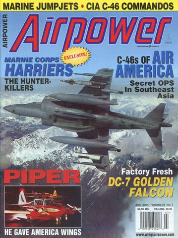 Airpower July 7.2004 Volume 34 Number 7 Magazine U N/A Airpower