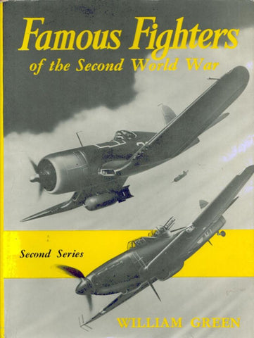 Famous Fighters Second World War Vol.2 By William Green Hardcover Macdonald U2 N/A Doubleday Company Inc