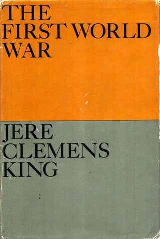 The First World War By Jere Clemens King Harper Reference Book Row Publishing U4 N/A Harper_Row