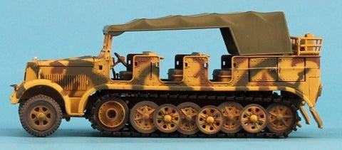 21st Century Toys Ultimate Soldier 1:32 Sd.Kfz 7 Troop Carrier Built Model U N/A 21st_Century_Toys