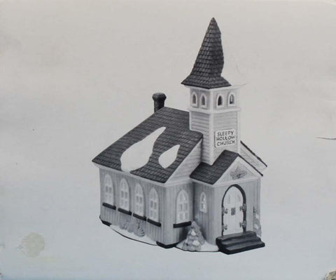 Department 56 Sleepy Hollow Church Heritage Village Collection #5955-2U N/A Department_56