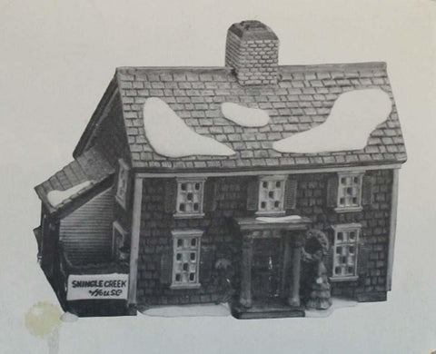 Department 56 Shingle Creek House Heritage Village Collection #5946-3 N/A Department_56
