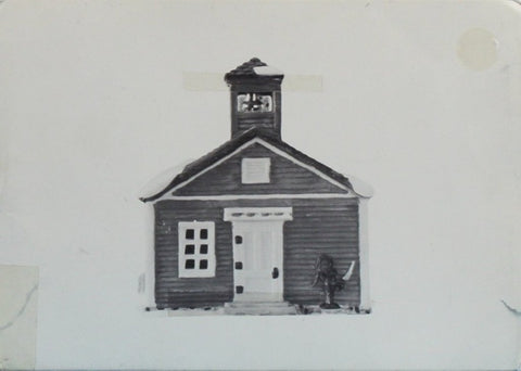 Department 56 Red Schoolhouse Heritage Village Collection #6530-7YU N/A Department_56