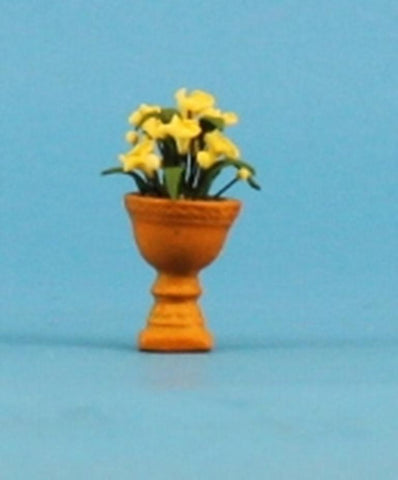 Department 56 Potted Flowers Yellow for Spring Summer Seasons Bay #53331 N/A Department_56