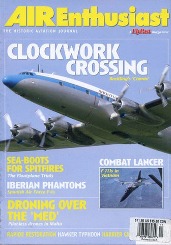 Air Enthusiast Clockwork Crossing No.114 11-12 2004 November-December Magazines N/A Air Enthusiast