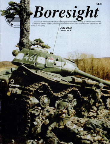 Boresight Us Marine M4 Sherman Italeri Vol.10 No.4 7.2002 July Issue Magazine U N/A Boresight