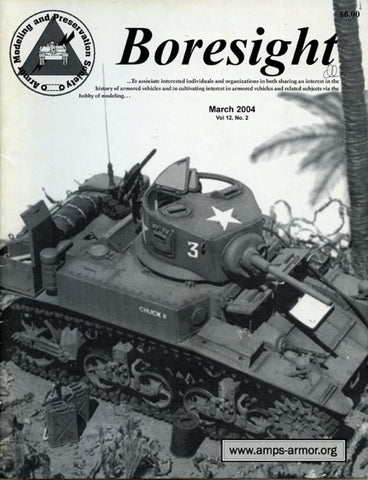 Boresight Texas Bound Marine M3a1 Vol.12 No.2 3.2004 March Magazine U N/A Boresight